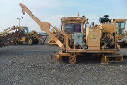 THCM0302 Knox Kershaw Tie Handling Crane w/ Magnet; Model #: KTC1200; S/N: 049-1200-03; Hours 2085