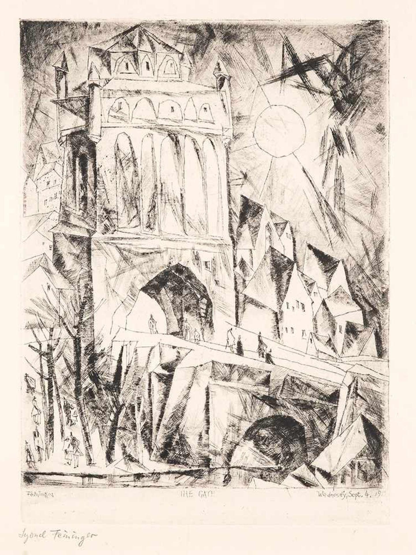 Los 19 - Lyonel Feininger (1871 – New York – 1956)