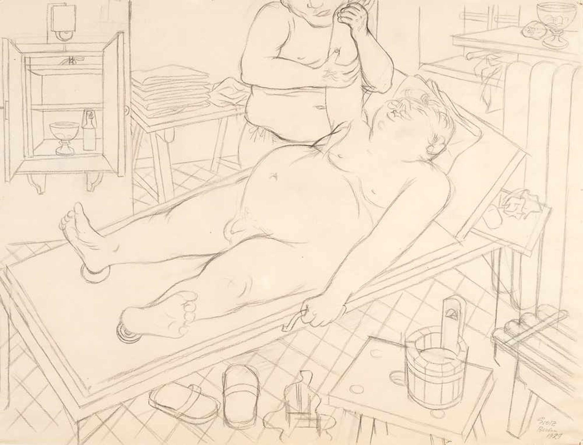 Los 33 - George Grosz (1893 – Berlin – 1959)
