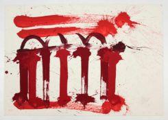 """Markus Prachensky(1932-2011)""""Senatus Populusque Romanus""""2009Lithographie auf Arches"""