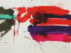 "Markus Prachensky(1932-2011)""Etruria orizontale""2012Lithographie auf Arches Papier,"