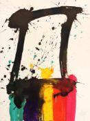 """Markus Prachensky(1932-2011)""""Etruria meridionale""""2012Lithographie auf Arches Papier"""