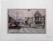 """Paul Landerl""""Streetlife""""2016Lithographie; Ed. 10/50; signiert, datiert und nummerie"""