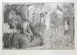 """Alfred Hrdlicka(1928-2009)""""Französische Revolution""""1989Radierung auf Papier; Ed. 2"""
