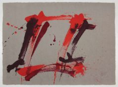 "Markus Prachensky(1932-2011)""Farnesina Dixie""2006Lithographie auf grauem Papier; Ed"