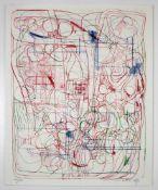 Hermann Nitsch(geb. 1938)Ohne Titel1993Lithographie auf Papier; Ed. 13/50; signiert