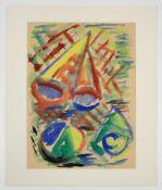 """Hubert Schmalix(geb. 1952)""""Kleines Strandgut 3""""1981Aquarell auf Papier; signiert, d"""
