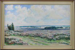 "Allda Eugen de Bruycker (1901 - 1981) - Öl auf Leinwand, ""Hochsommer"", unten links signiert, verso"