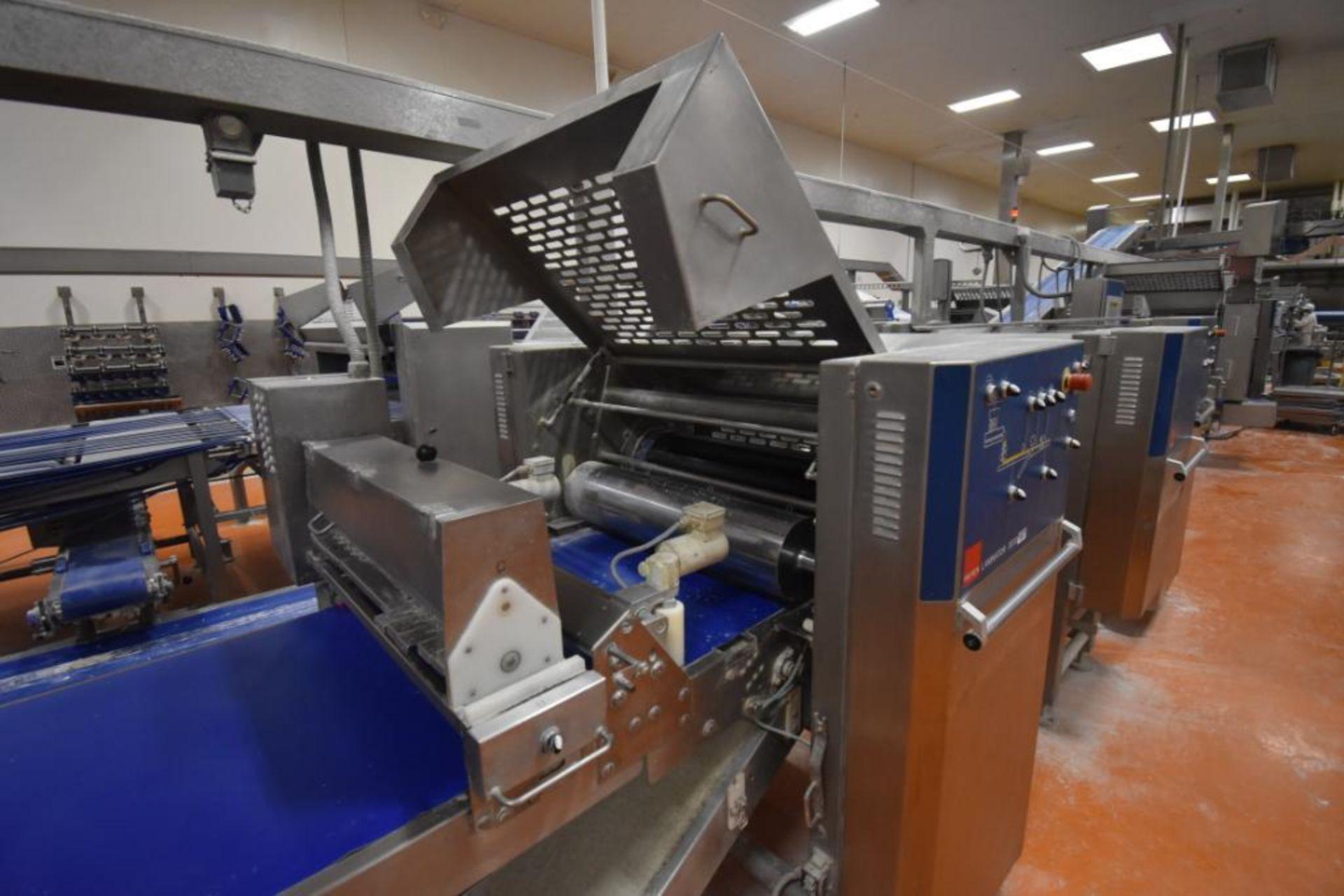 2007 Fritsch Laminator 3000 dough line - Image 125 of 280