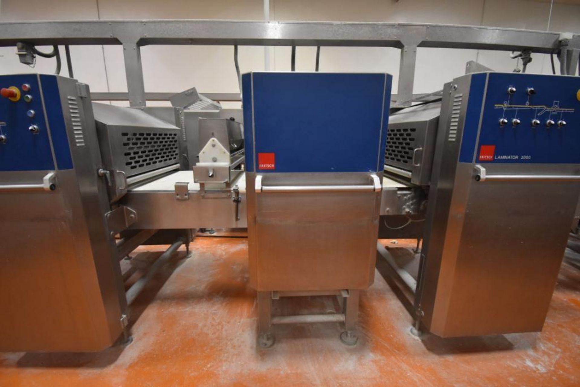 2007 Fritsch Laminator 3000 dough line - Image 3 of 280