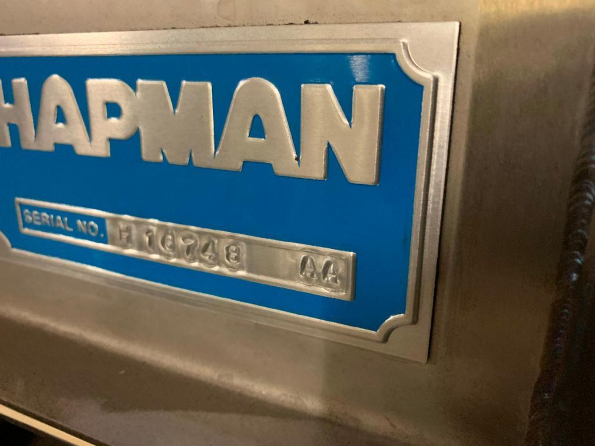 Hapman stainless steel bag dump cabinet - Image 2 of 4