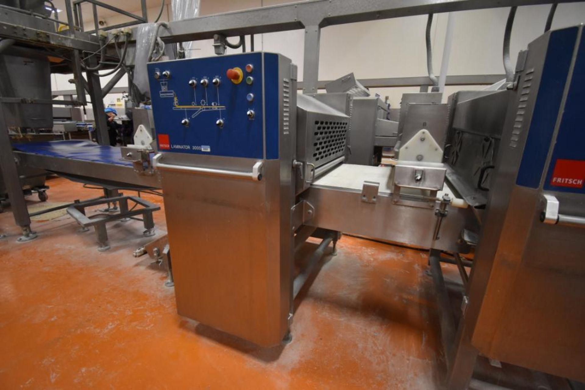 2007 Fritsch Laminator 3000 dough line - Image 63 of 280