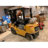 Catepillar fork truck, LP gas