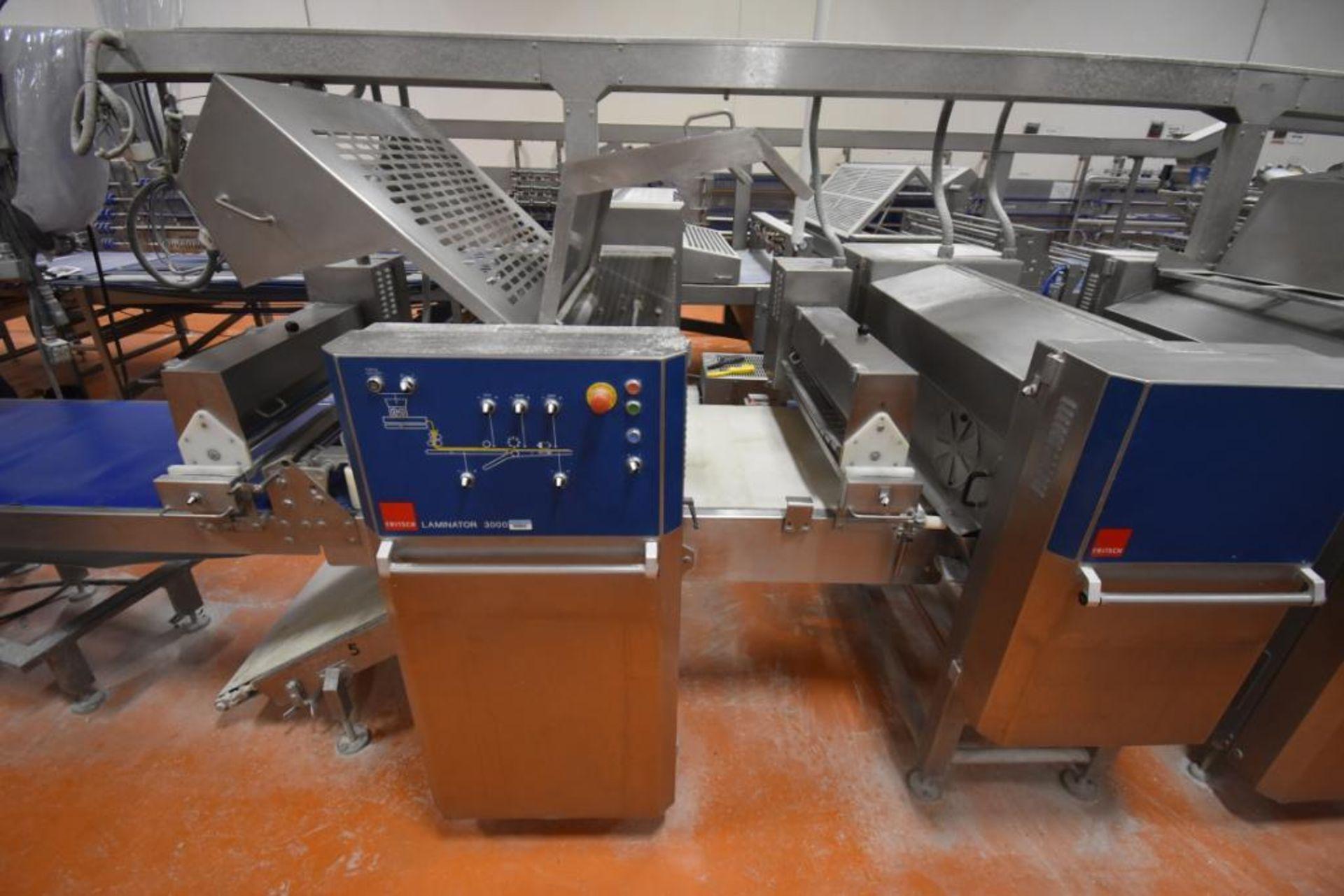 2007 Fritsch Laminator 3000 dough line - Image 263 of 280