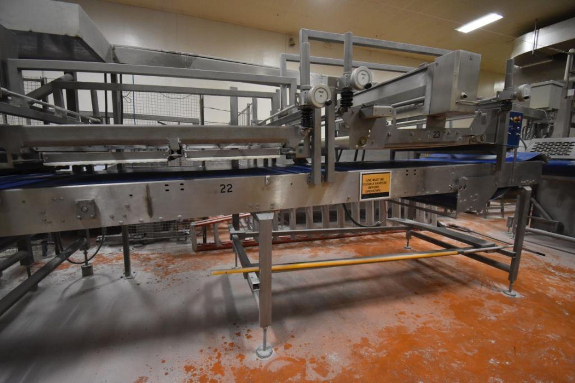 2007 Fritsch Laminator 3000 dough line - Image 198 of 280