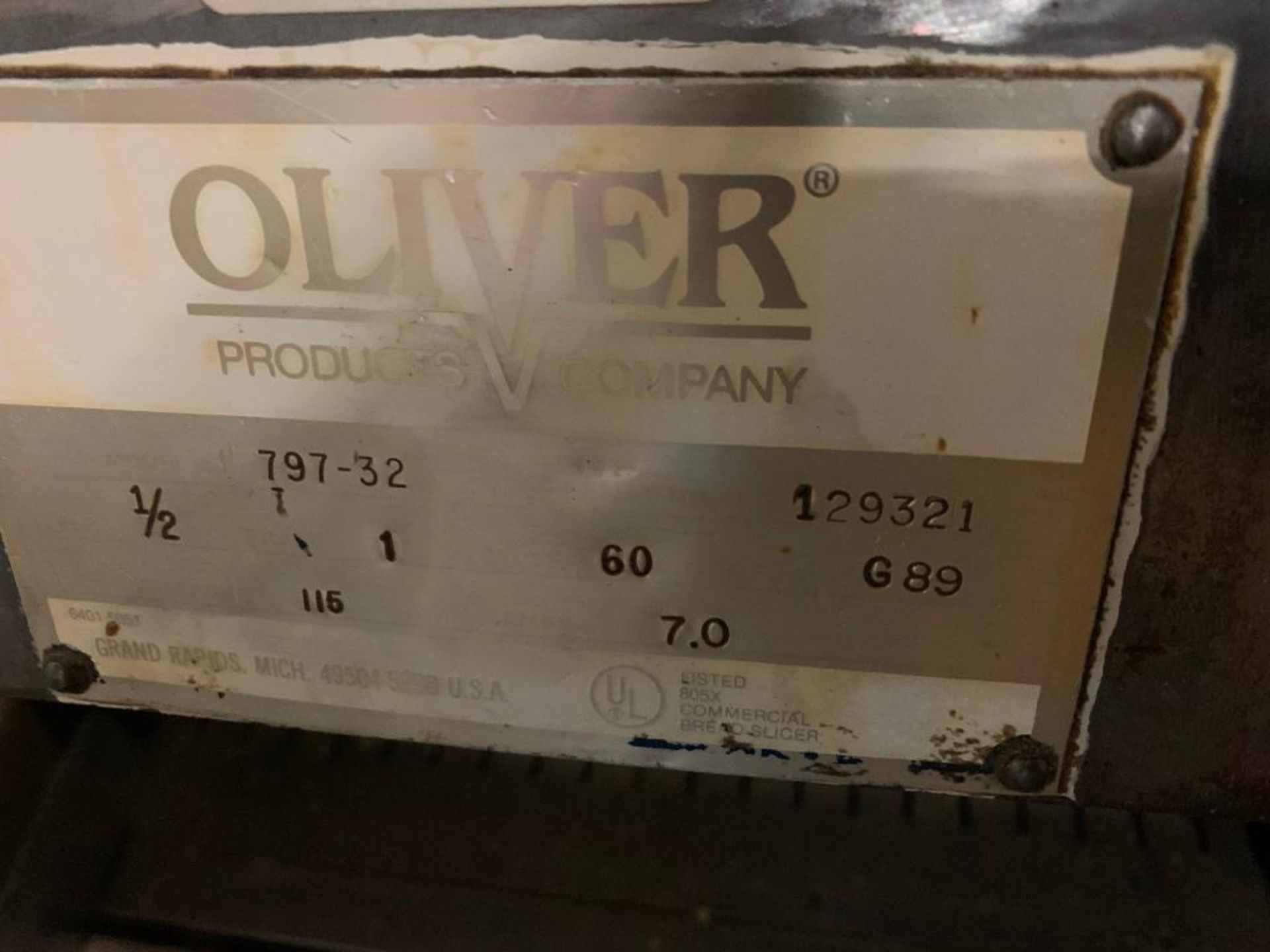 Oliver bread loaf slicer, model 797-32 - Image 4 of 5