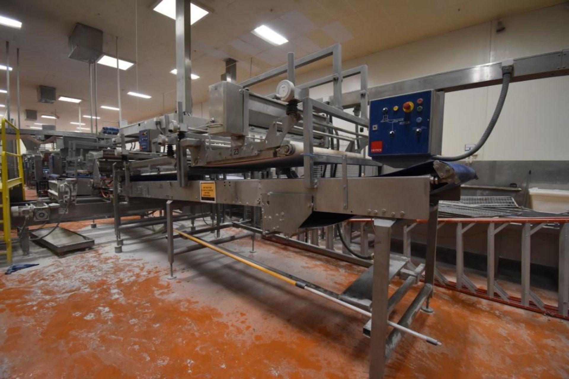 2007 Fritsch Laminator 3000 dough line - Image 200 of 280