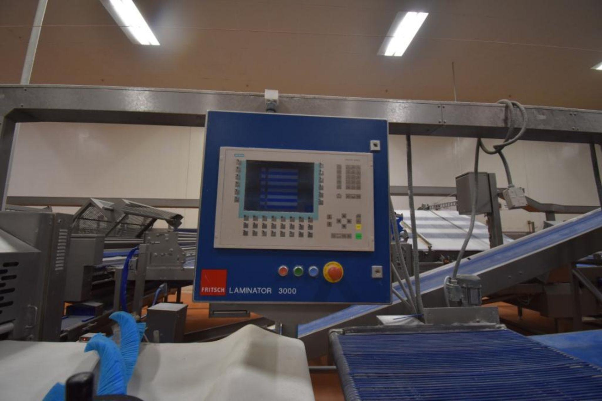2007 Fritsch Laminator 3000 dough line - Image 84 of 280
