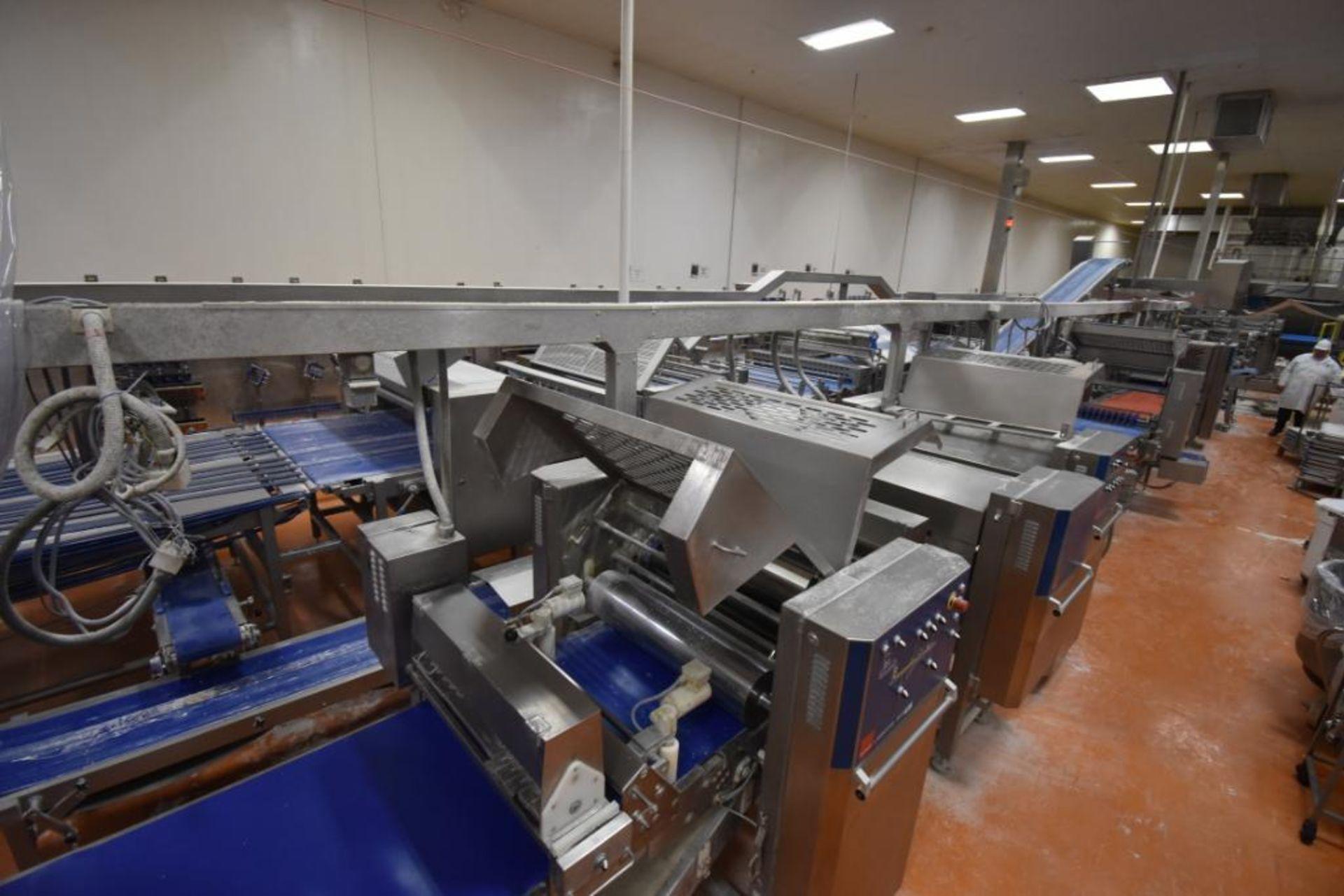 2007 Fritsch Laminator 3000 dough line - Image 262 of 280