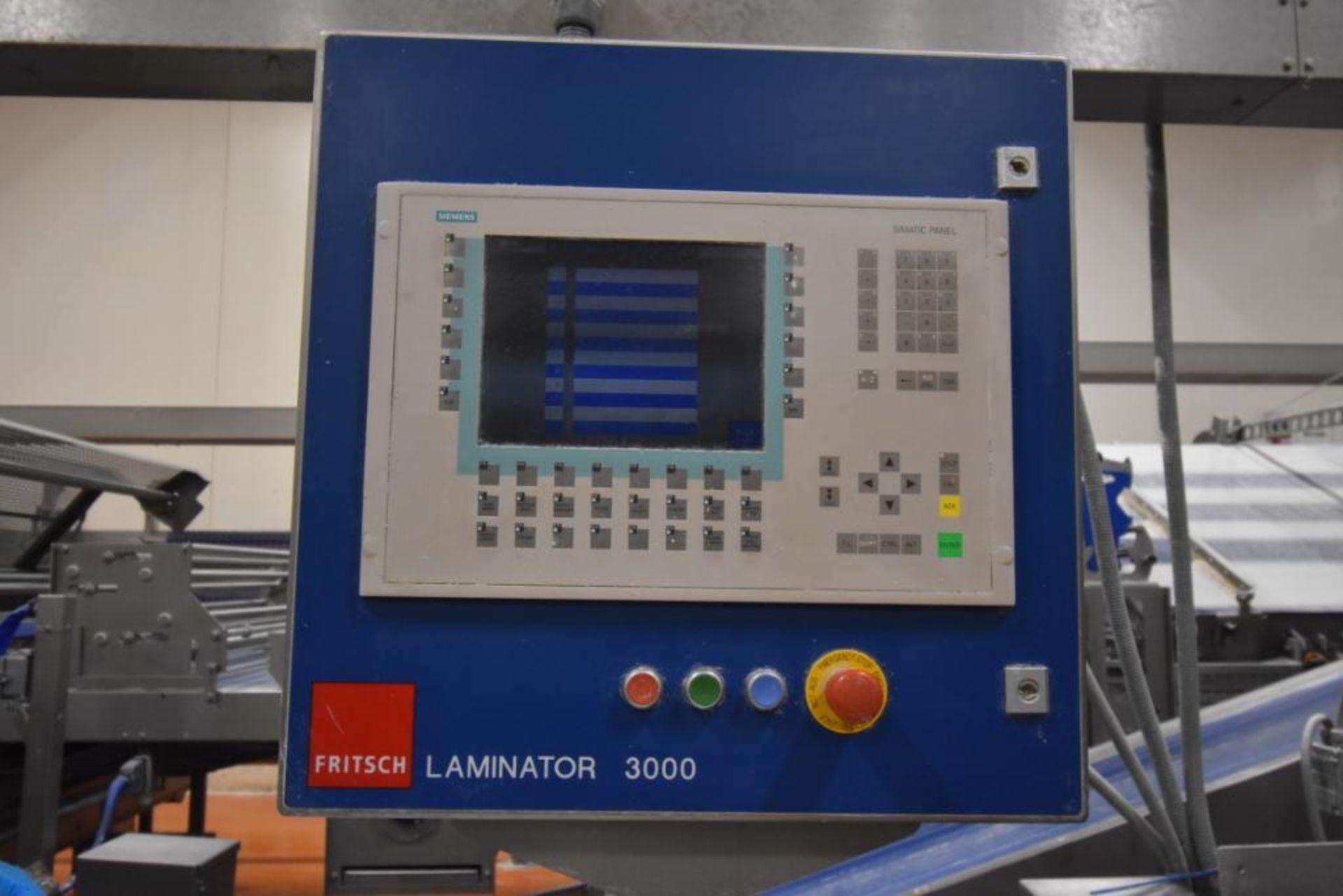 2007 Fritsch Laminator 3000 dough line - Image 86 of 280