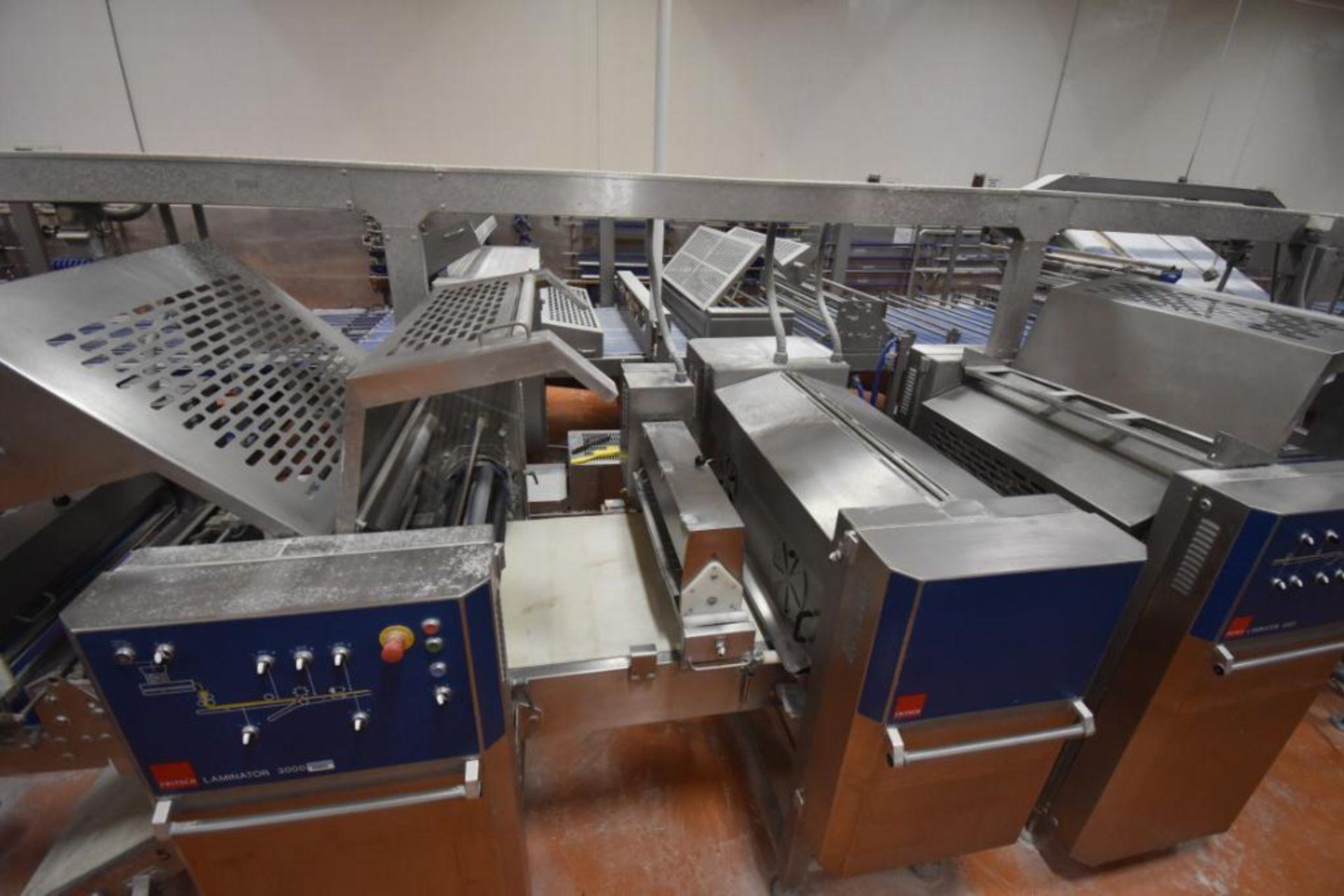 2007 Fritsch Laminator 3000 dough line - Image 266 of 280
