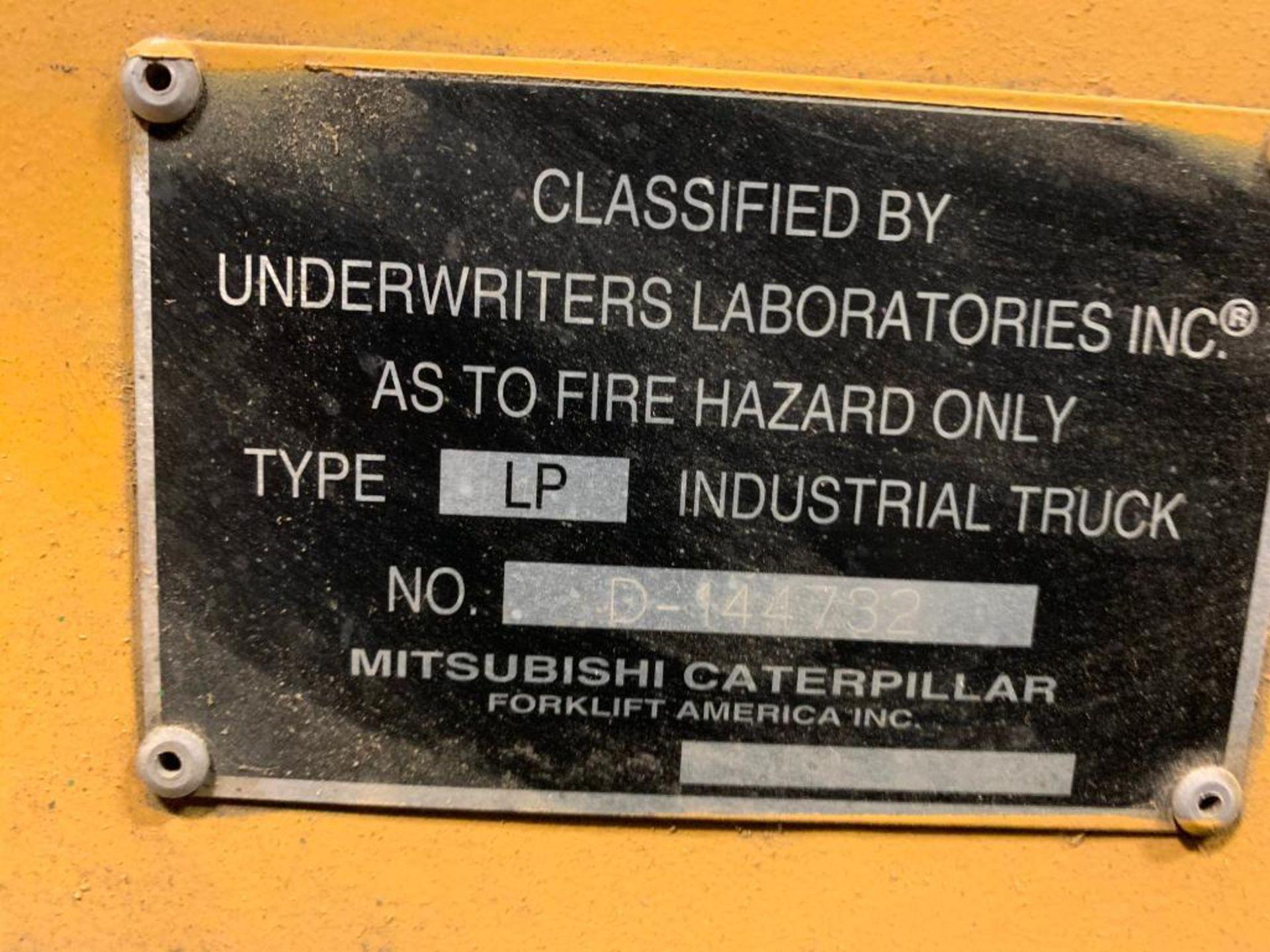 Catepillar fork truck, LP gas - Image 4 of 13