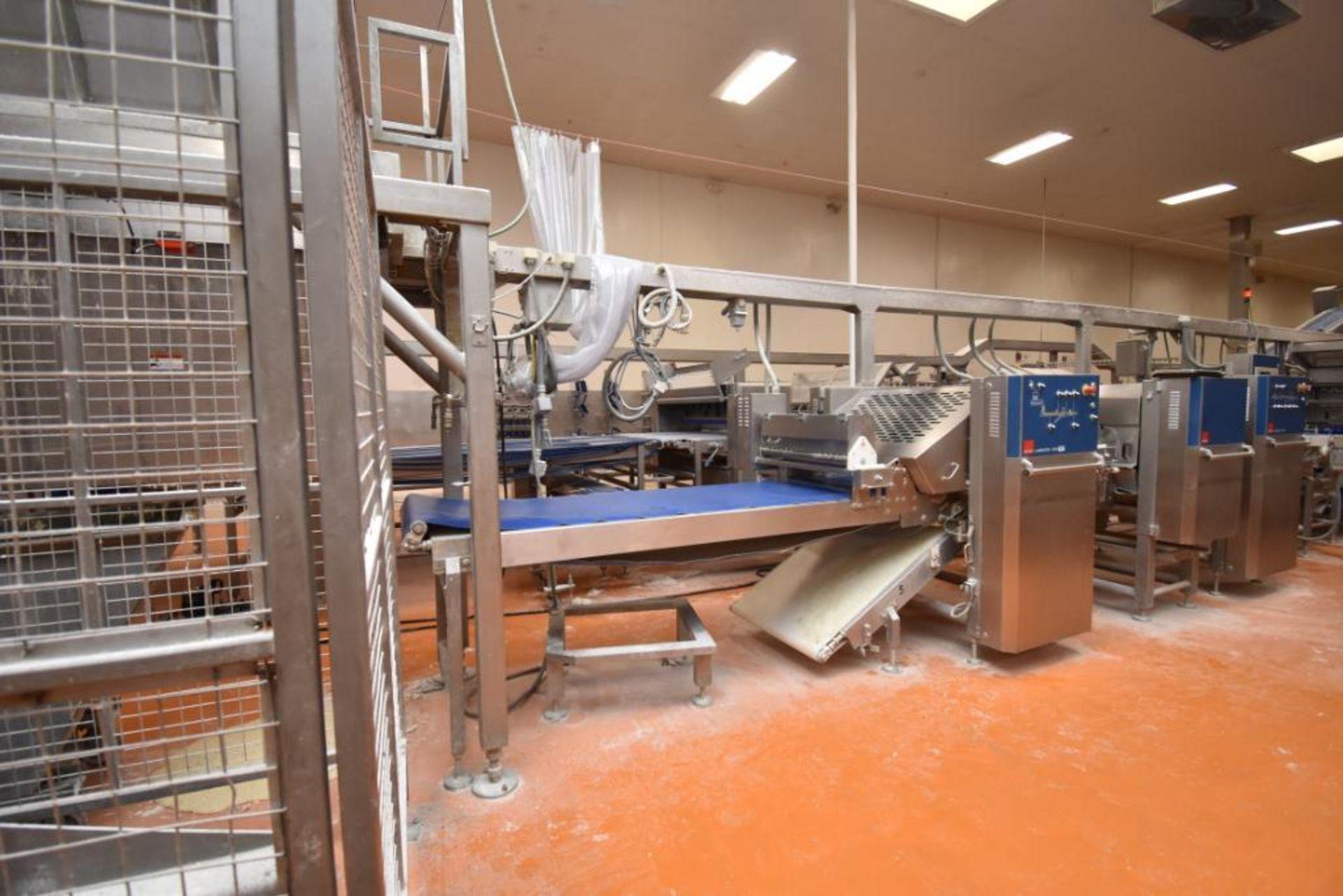 2007 Fritsch Laminator 3000 dough line - Image 54 of 280