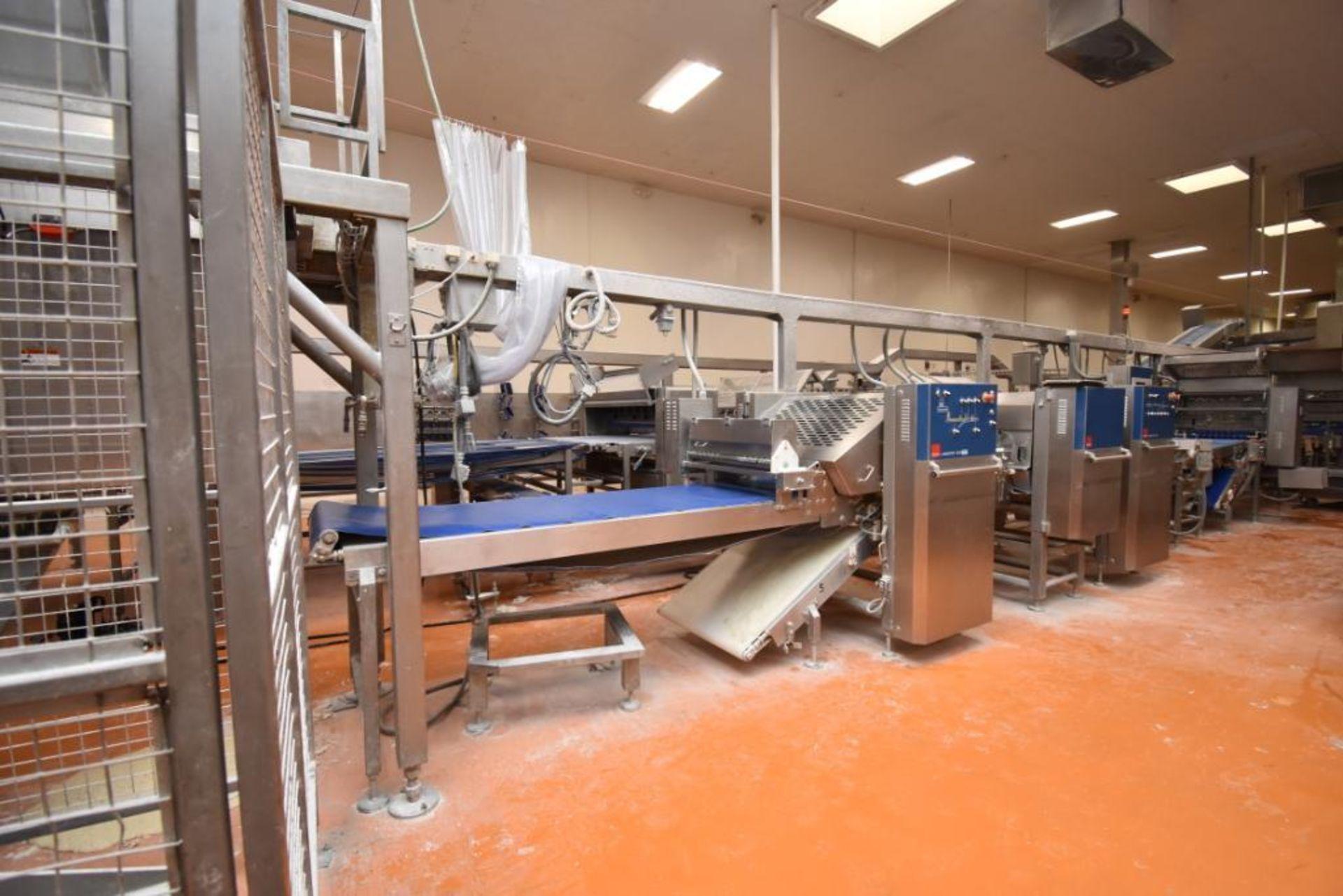2007 Fritsch Laminator 3000 dough line - Image 53 of 280