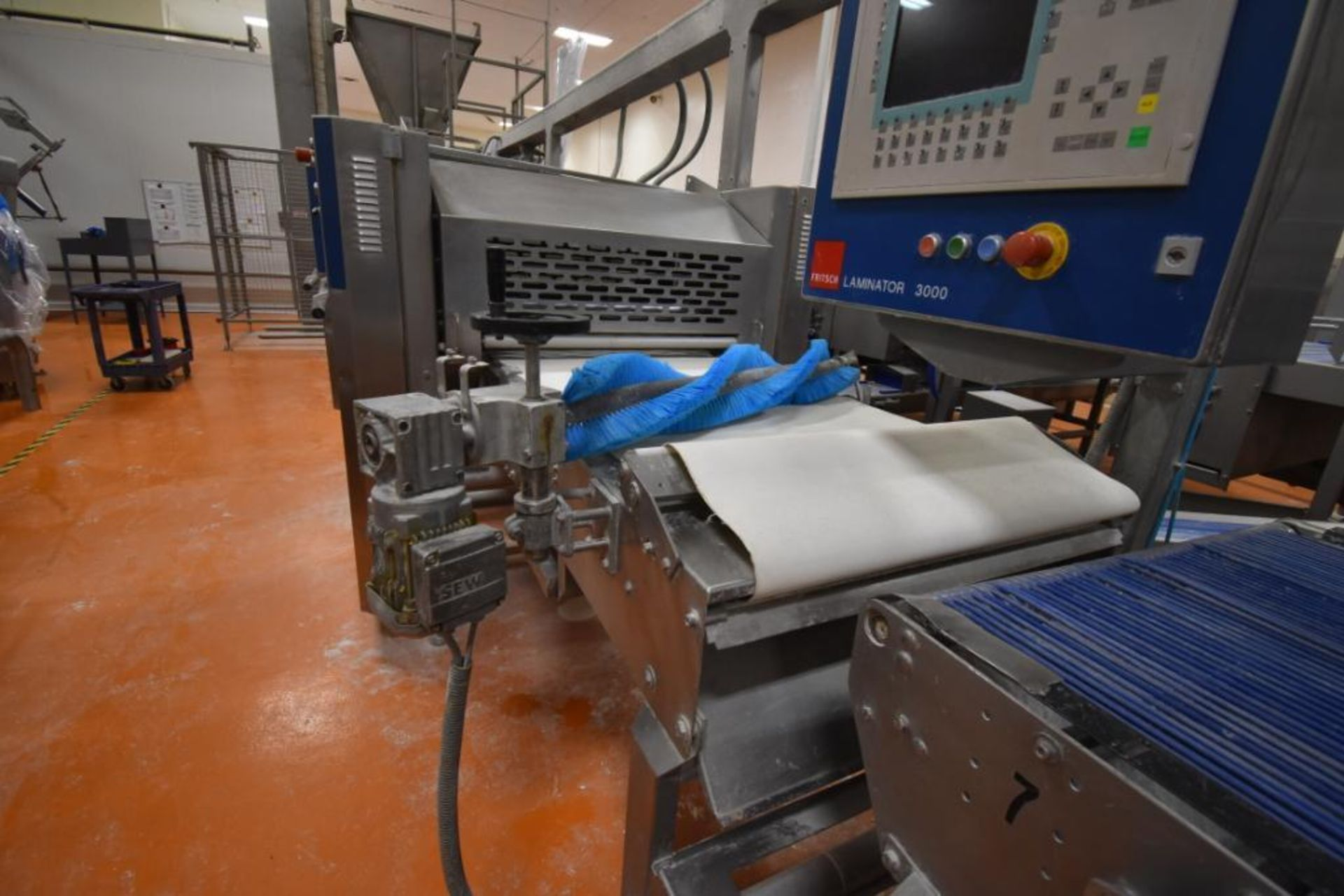 2007 Fritsch Laminator 3000 dough line - Image 78 of 280