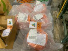 (5) unused Allen Bradley Kinetix 20M smart link cable (LOT)