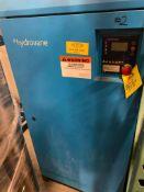 Hydrovane rotary screw air compressor