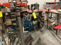 CTM sticker labeler on stand