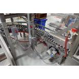 powered roller case conveyor