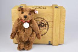 STEIFF 'Club Teddybär in Memoriam Messe Leipzig 1903 in Holzkiste'limitierte Auflage 651, mit