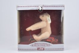 STEIFF 'Record Teddy 1913'Replica, Museum-Collection, 1990, limitierte Auflage 3609/ 4000, KFS,