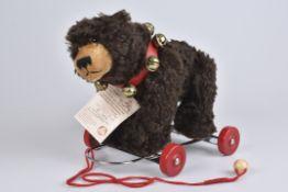 HERMANN 'Max-Hermann 1899-1999'limitierte Auflage 350/ 500, mit Zertifikat, Mohair, braun, Teddy aus