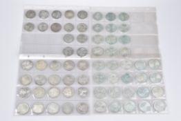 Konv. 66 Silbermünzen, 10-DM-Münzen