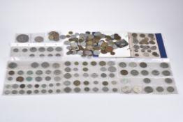 Konv. über 250 Münzen, Silbermünzen, Weltmünzen