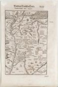 "Landkarte ""Eifel (Eyfalia)"""