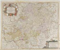 """Landkarte """"Circulus Rhenanus Superior"""""""