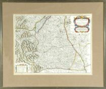 "Landkarte ""Alemannia sive Suevia Superior (Oberschwaben)"""