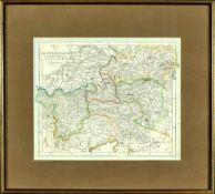 """Landkarte """"Charte von Oesterreich"""""""