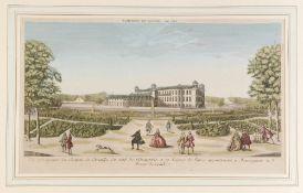 Paris, Vue de Chateau de Chantilly
