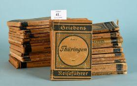 Grieben-Reiseführer, 24 StückNr. 3/19/23/31/35/37/45/60/66-68/80b/106/119/120/161/163/165167/171/