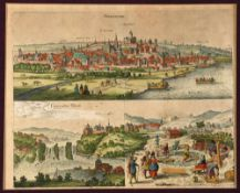 Oppenheim (Oppenheym), Gesamtansicht mit Rheinfall
