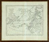 """Landkarte """"Carte générale des découvertes de l'Amiral de Fonte"""""""
