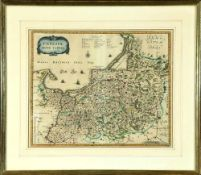 "Landkarte ""Prussiae nova Tabula (Preussen)"""