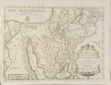 """Landkarte """"Tabula Itineris & Stationum Israelitarum"""""""