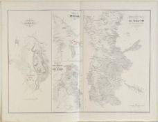 "Landkarte ""Operationsplan für den Feldzug 1789"""