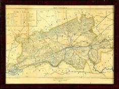 """Landkarte """"Kreis Landsberg a.W."""""""